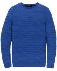 Vanguard Pullover Ronde Hals Vkw201316-5075 - Blauw