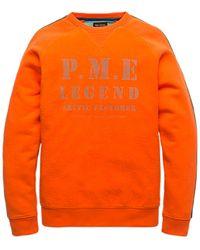PME LEGEND Pullover Psw197430 - Oranje