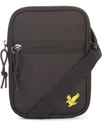 Lyle & Scott Mini Messenger - Zwart