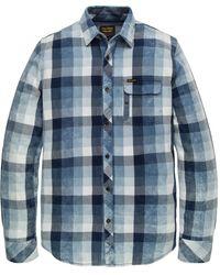 PME LEGEND Overhemd Psi201230 - Blauw