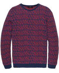 Vanguard Pullover Vkw201320 - Blauw