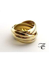Atelier Christian Gouden Duimring Van 8 Ringen - Metallic