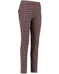 L.O.E.S Mylene Check Pants 20262 - Meerkleurig