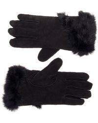 EMU Handschoen Pine Creek Gloves Black - Zwart