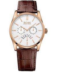 BOSS by Hugo Boss Clock Hb1513125 - Bruin