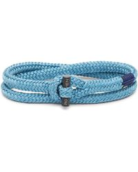 Pig & Hen P31-ss20-261000 Armband Tiny Tiny Sky Blue Black - Blauw