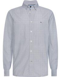 Tommy Hilfiger Overhemd Mw0mw12812 - Blauw