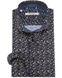The BLUEPRINT Trendy Overhemd Met Lange Mouwen - Zwart