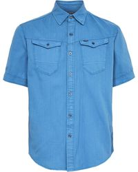 G-Star RAW Arc 3d Slim Shirt Ss - Blauw