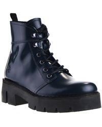 Fly London - Dames Veterboots - Lyst