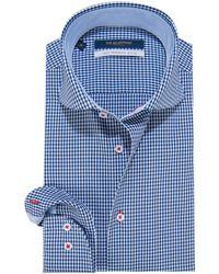 The BLUEPRINT Trendy Overhemd Met Lange Mouwen - Blauw