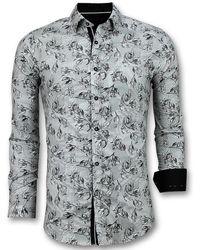 Gentile Bellini Casual Overhemden Heren - Wit