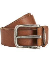 PME LEGEND Belt Leather Cognac - Bruin