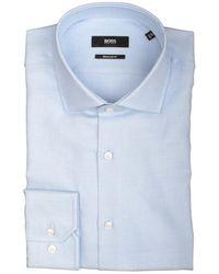 BOSS by Hugo Boss Gordon Overhemd 503532/435 - Blauw