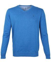 Scotland Blue Pullover 20105vi01sb - Blauw
