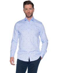 BLUE INDUSTRY Casual Overhemd Met Lange Mouwen - Blauw