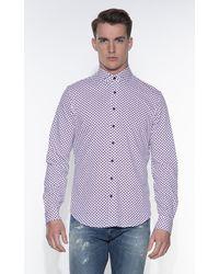 BLUE INDUSTRY Casual Shirt Met Lange Mouwen - Wit