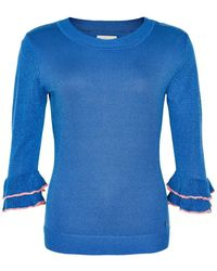 Numph Jazlynn Pullover - Blauw