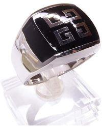 Atelier Christian Zilveren Heren Ring Met Onyx Grieks Model - Meerkleurig