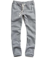 Todd Snyder   Classic Sweatpant In Salt And Pepper   Lyst