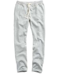 Todd Snyder - Classic Sweatpant In Light Grey Mix - Lyst
