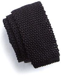 Todd Synder X Champion Classic Silk Knit Tie - Black
