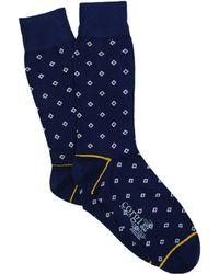 Corgi - Mini Diamond Sock In Navy - Lyst