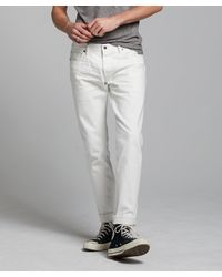 Todd Synder X Champion Slim Fit Japanese Selvedge Stretch Jean - White
