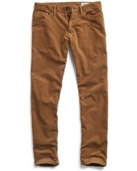 Todd Synder X Champion 5-pocket Stretch Italian Cord In Camel - Multicolour