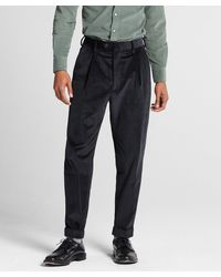 Todd Synder X Champion Italian Pleated Cord Madison Suit Trouser - Multicolor