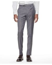 Todd Snyder - Sutton Suit Pant In Italian Charcoal Glen Plaid Tropical Wool - Lyst