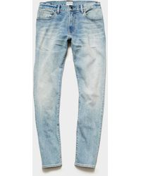 Todd Synder X Champion Slim Fit Stretch Jean - Blue