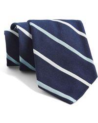 Todd Snyder - St. Marks Multi Stripe Tie In Navy - Lyst