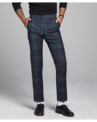 Todd Synder X Champion - Italian Wool Blackwatch Suit Pant - Lyst