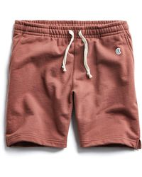Todd Synder X Champion - Terry Warm Up Short In Rustica - Lyst