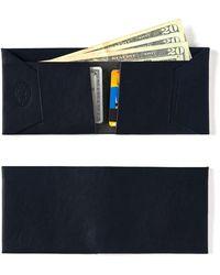 Maxx + Unicorn - Leather Wallet In Navy - Lyst