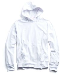 Todd Synder X Champion Heavyweight Popover Hoodie - White