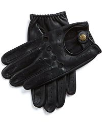 Dents - Dents Silverstone Touchscreen Driving Gloves In Black - Lyst