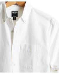 Todd Snyder - Japanese Selvedge Oxford Shirt In White - Lyst