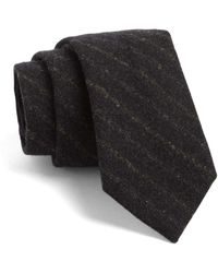 Todd Snyder - Fulton Tie In Dark Storm With Subtle Stripe - Lyst