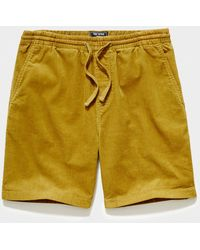 """Todd Synder X Champion 7"""" Washed Corduroy Weekend Short - Multicolor"""