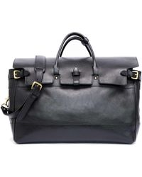 Lotuff Leather - Exclusive + Todd Snyder Satchel In Black - Lyst