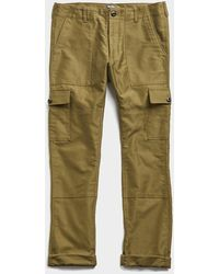 Todd Synder X Champion Made In New York Japanese Cotton Camp Cargo - Green