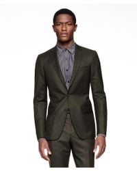 Todd Snyder - Sutton Suit Jacket In Italian Olive Heather Wool Flannel - Lyst
