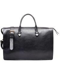 Lotuff Leather Triumph Briefcase In Black