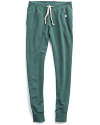 Todd Snyder | Slim Sweatpants In Green | Lyst