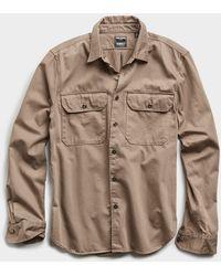 Todd Synder X Champion Italian Two Pocket Utility Long Sleeve Shirt - Multicolour