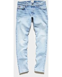 Todd Synder X Champion Slim Fit Made In Usa Selvedge Jean - Blue