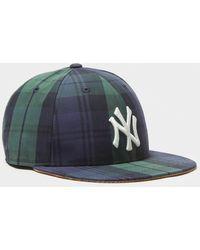 NEW ERA HATS 59fifty Adjustable British Millerain Cap - Blue