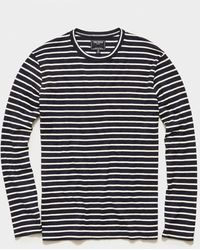 Todd Synder X Champion - Long Sleeve Japanese Nautical Stripe Tee - Lyst